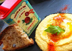 Homemade Hummus and Paprika
