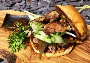 Duck Burger - Asian Style