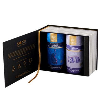 Gift Set - Hangover and Relax Herbal Tea by SARISTI
