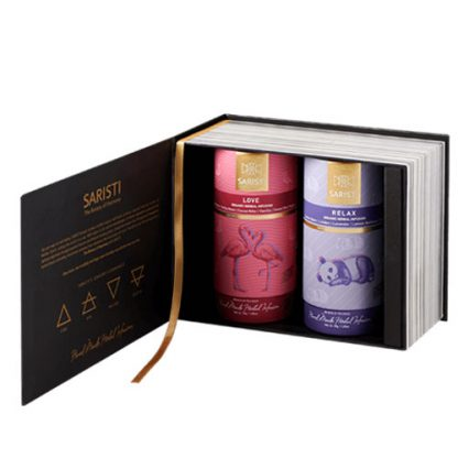 Gift Set - Love and Relax Herbal Tea by SARISTI