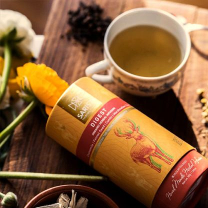 Suffering from bloat or indigent, try Digest Herbal Tea for comforting relief