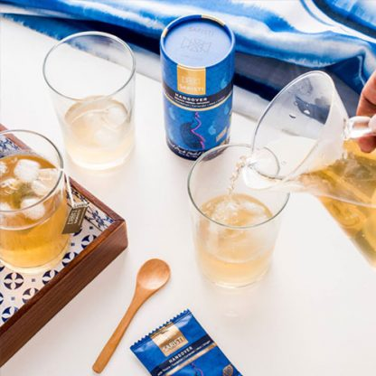 Cold Brew of Hangover Herbal Tea from SARISTI