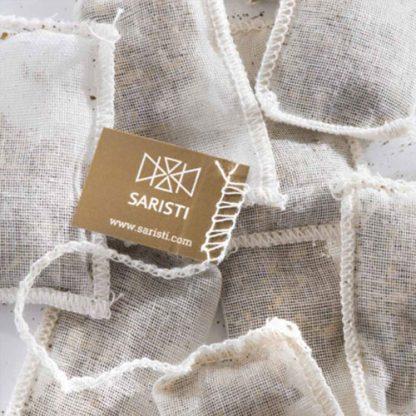 Hand Sewn Muslin Teabags by SARISTI
