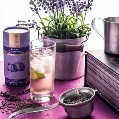 Cold Brew of Relax Herbal Tea from SARISTI