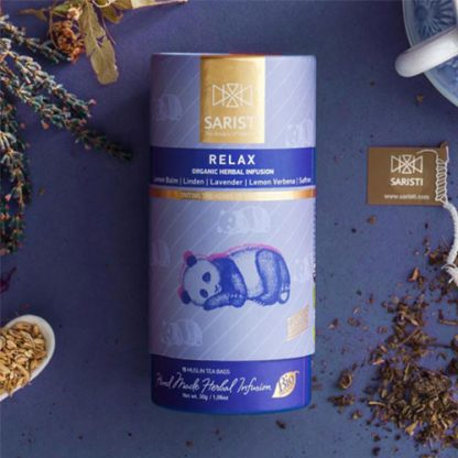 Relax Herbal Infusion from SARISTI