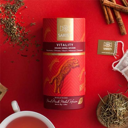 Vitality Herbal Infusion from SARISTI
