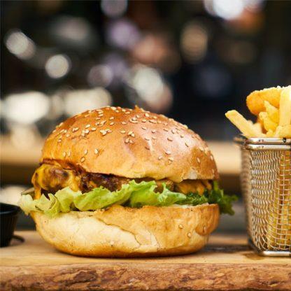 Wagyu Burger and Chips